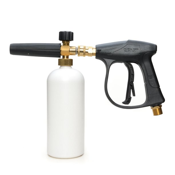 Fixm High Pressure Adjustable Snow Foam Cannon Foam Lance Washer Soap With Bottle Car Wash Gun Walmart Com Walmart Com