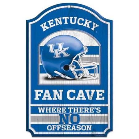 Kentucky Wildcats Official NCAA 17 inch x 11 inch  Wood Sign by WinCraft
