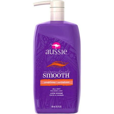 - Aussie Miraculously Smooth Conditioner, 29.2 Fl Oz