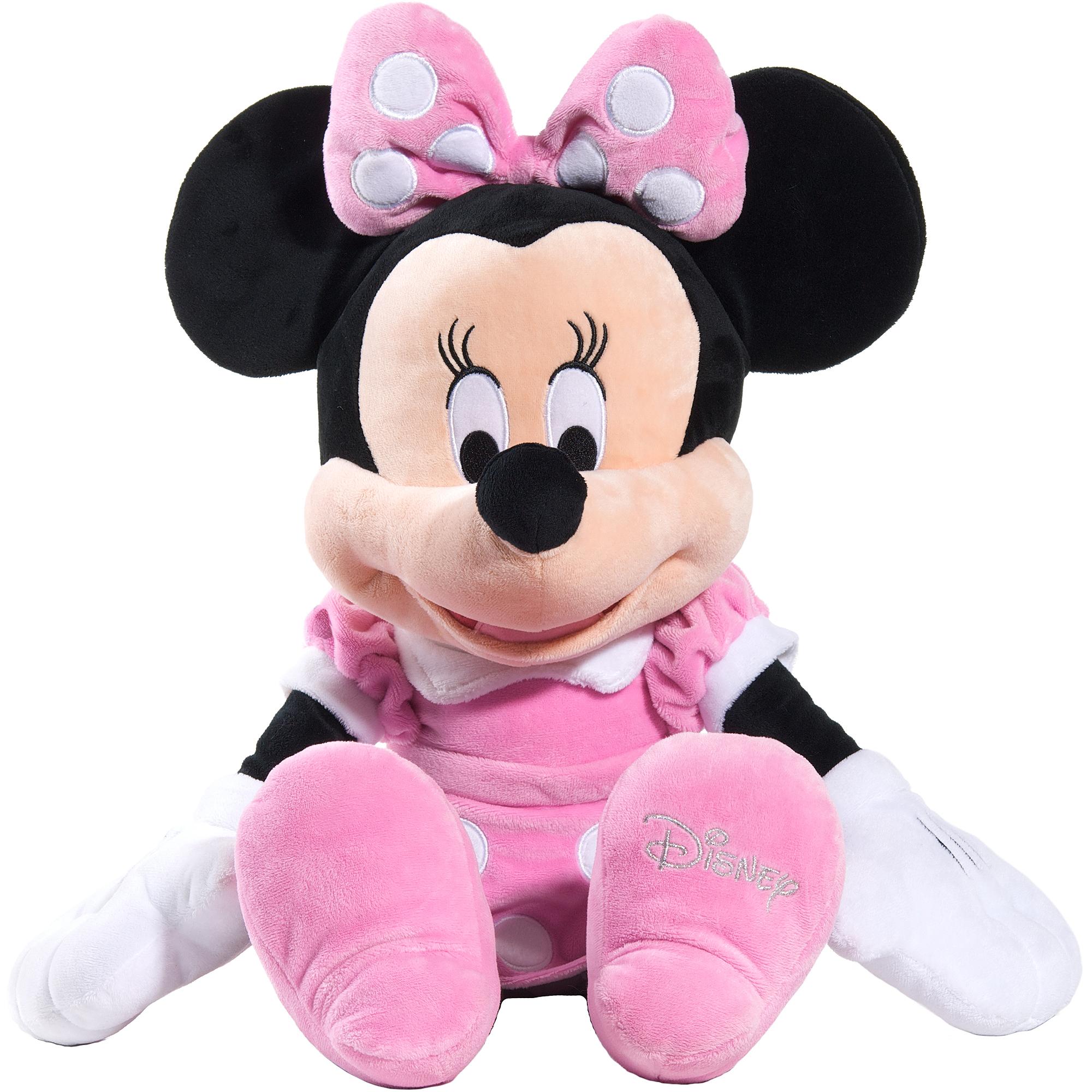 Disney Classic Large Plush Minnie Mouse Walmart Com
