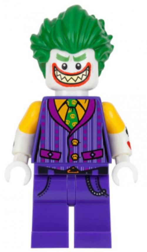 DC The LEGO Batman Movie The Joker Minifigure [Striped ...