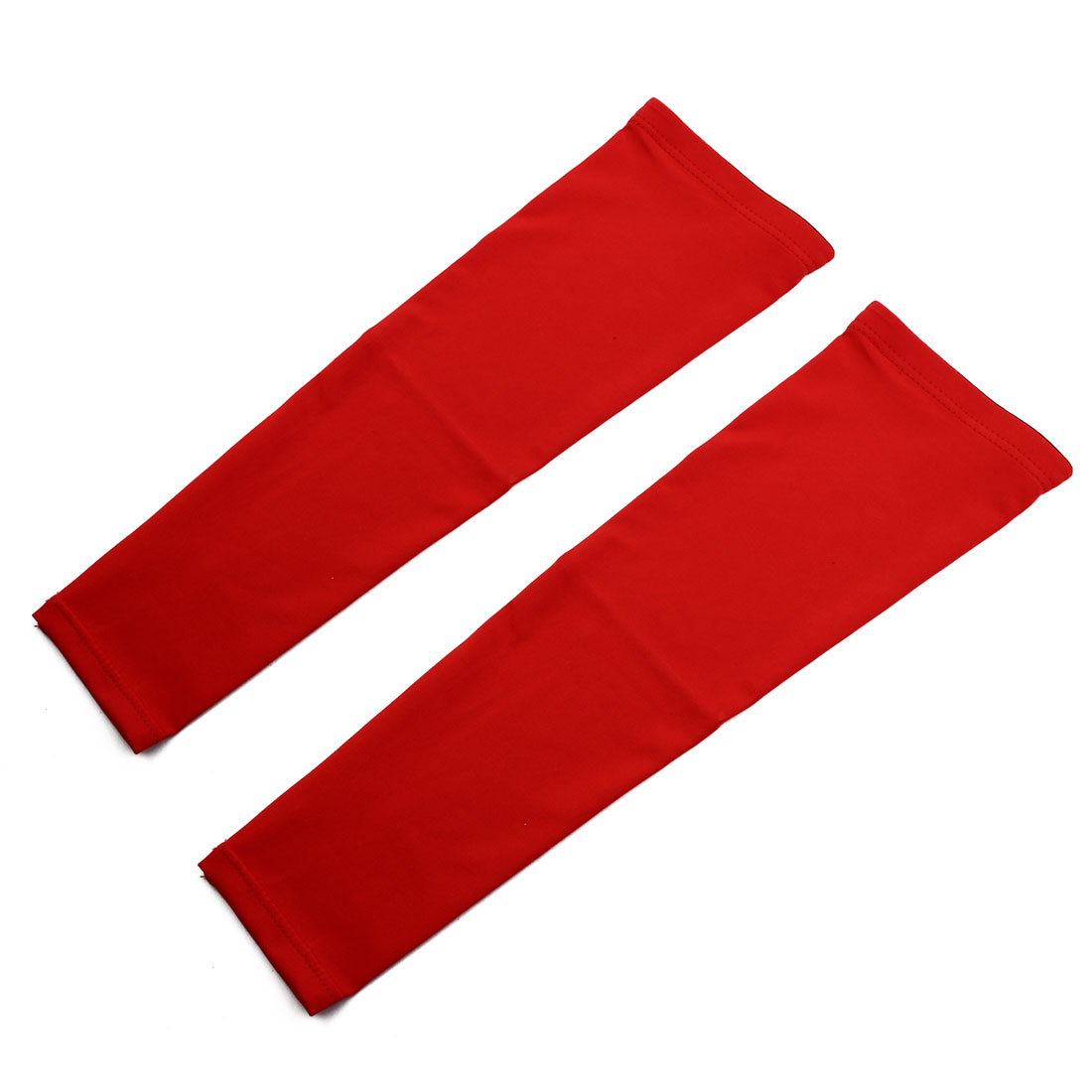 Hands Arm Glove Cycling Activities Skin Protective Cooling Sleeve Red XL Pair