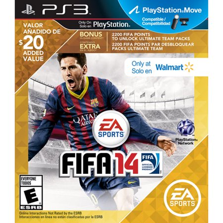 FIFA Soccer 14 - Wal-Mart Exclusive (PS3)