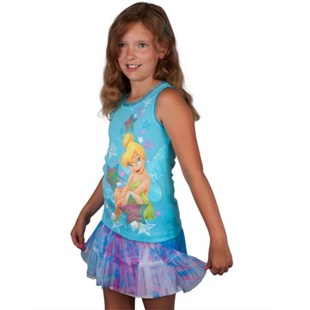 Tinkerbell - Super Star Tink Girls Juvy Skirt - Tinker Girls