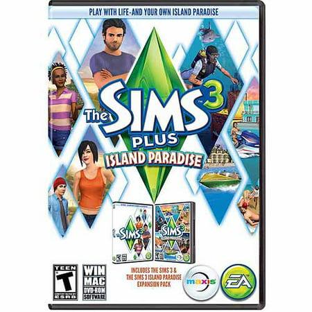 Sims 3 Plus Island Paradise (PC/Mac) (Digital (The Sims Bustin Out Gba Paradise Island)