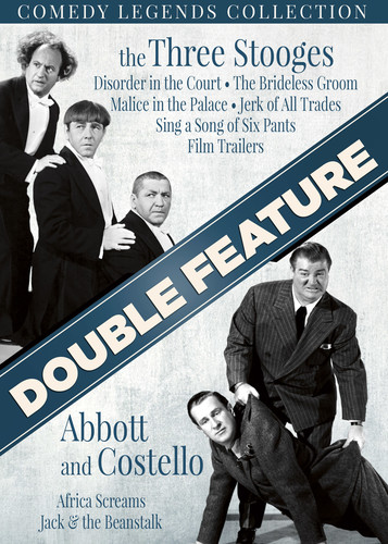 Comedy Legends Collection: The Three Stooges   Abbott And Costello by Platinum Disc