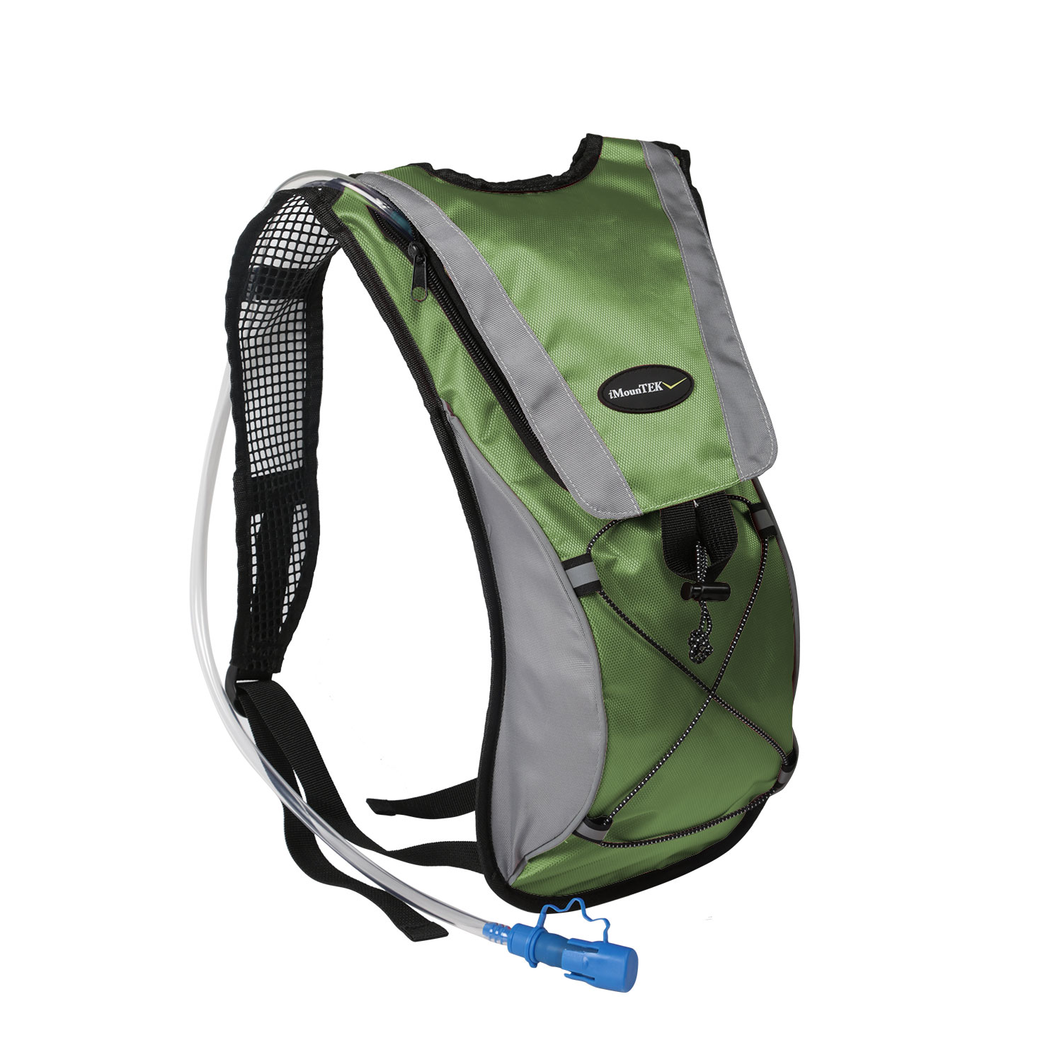 iMounTEK  Hydration Pack Water Backpack with 2L Hydration Bladder (Green)