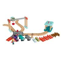 Deals on Thomas & Friends Wood Lift & Load Cargo Train Track Set