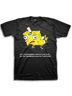 42d99b059 Product Image Spongebob Derp Meme Men's Graphic Tee up to Size 3XL