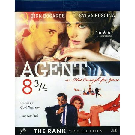 Agent 8 3 4  Blu Ray