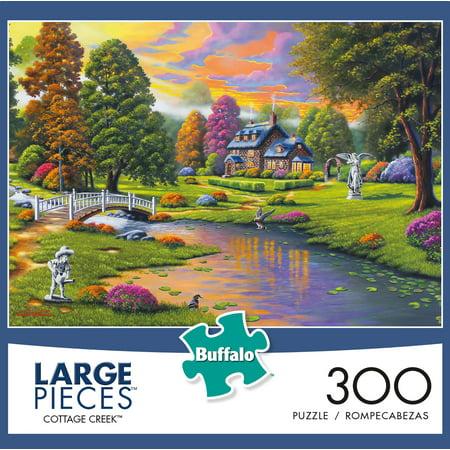 Buffalo Games - Cottage Creek - 300 Large Piece Jigsaw Puzzle ()