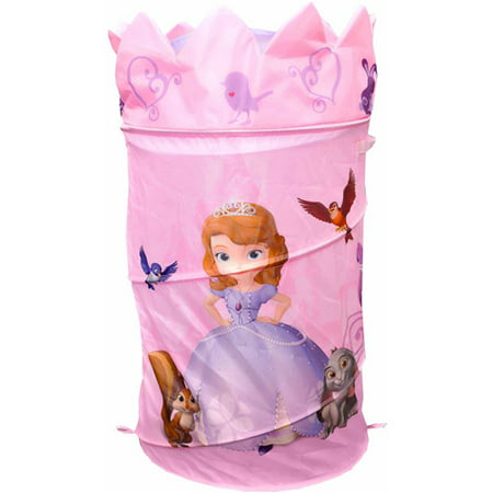 Disney Sofia the First Laundry Pop-Up Hamper with Dome Lid - Sofia The First Table Cloth