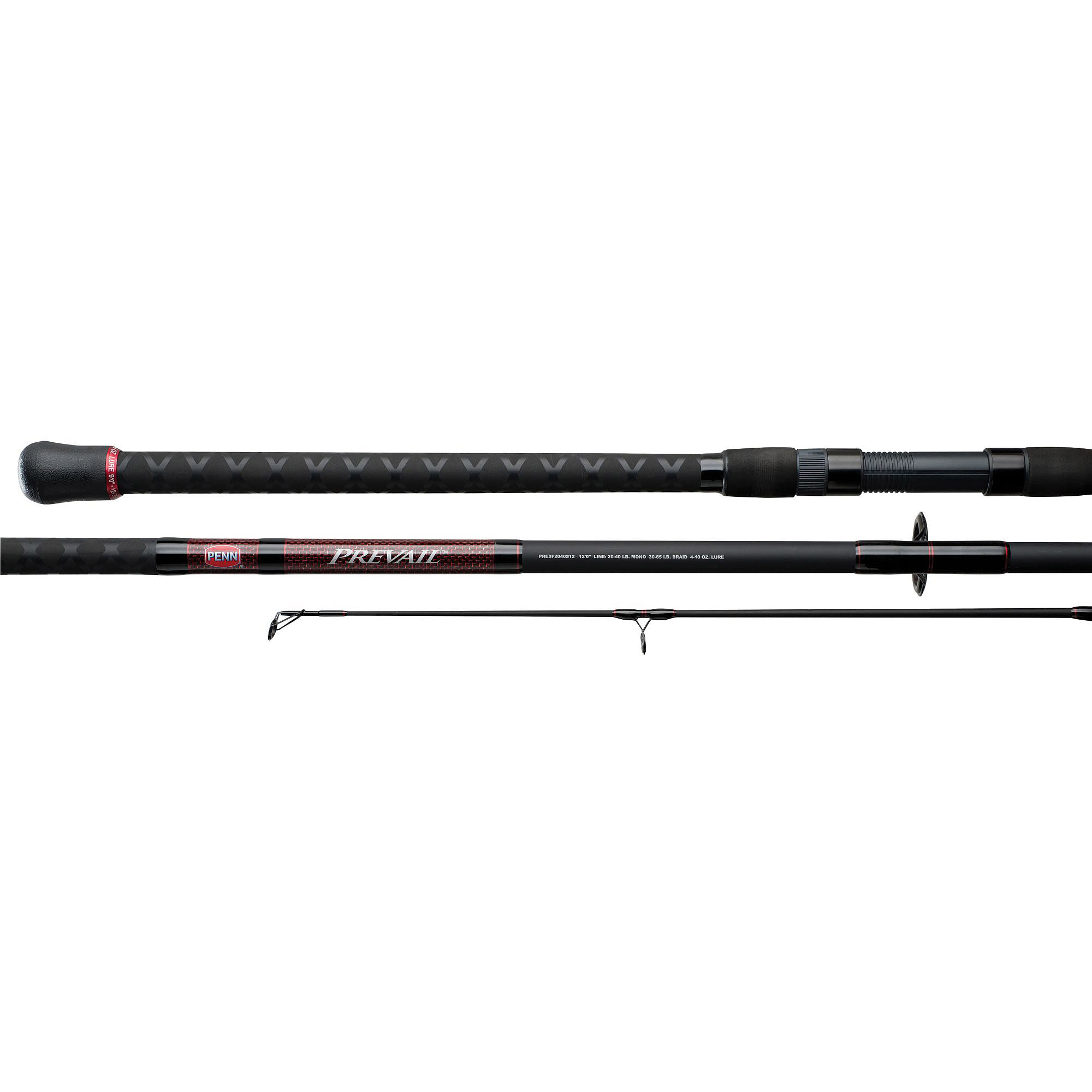 Medium Heavy Penn Prevail Surf Spinning Fishing Rod 10/' 2pcs