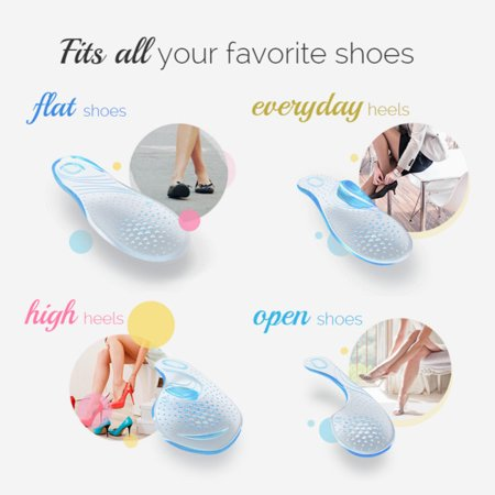 658a5280ff4 ... Amope GelActiv Everyday Heels Insoles for Women