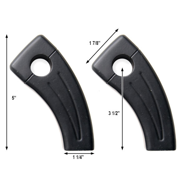 "3.5"" Black Bike Handlebar Pullback Risers 7/8"" For Kawasaki Z1000 Z750 Versys - image 1 de 4"