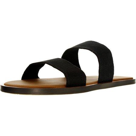 - Sanuk Women's Yoga Gora Gora Black Sandal - 6M