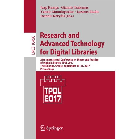 Research and Advanced Technology for Digital Libraries - -