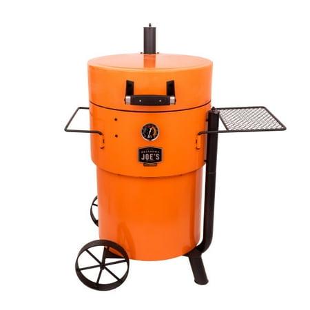 Oklahoma Joes Bronco Pro Drum Smoker - Orange