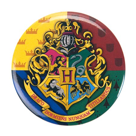 Potter Buttons (Harry Potter Hogwarts Symbol 1.5 inch Pinback Button )