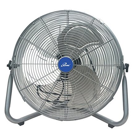 Turbo Fan - iLiving ILG8F21 Super Turbo High Velocity Floor Fan 7500CFM with 225W Motor, 20