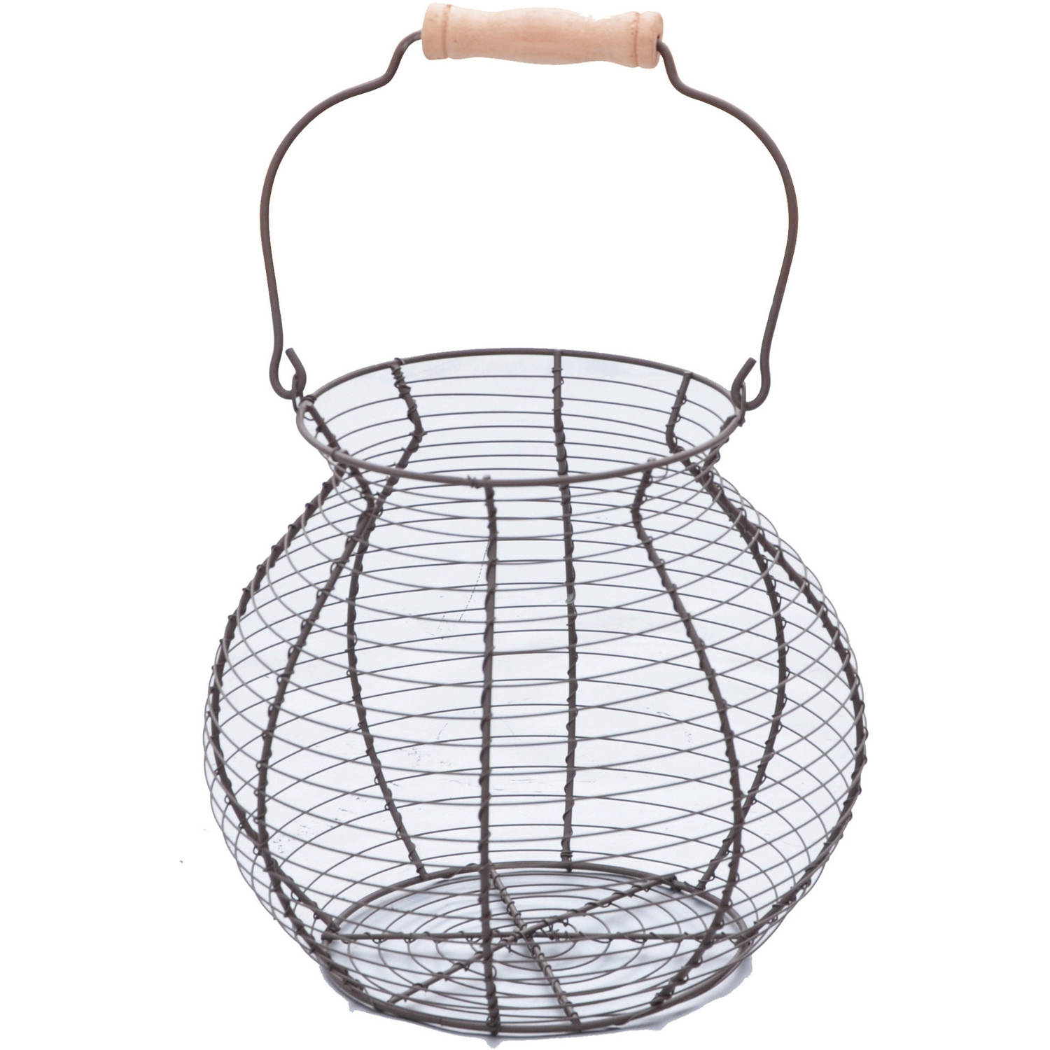 Wire Egg Basket, Vintage Style, By Trademark Innovations