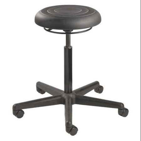 Bevco Industrial Seating - BEVCO ErgoLux Jr Backless Pneumatic Stool 16-1/4