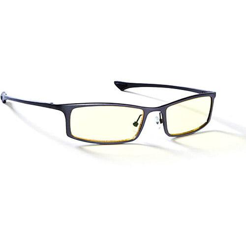Gunnar Optics Phenom Computer Eyewear - Graphite Frame w/ Amber Lens