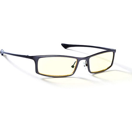 Gunnar Optics Phenom Computer Eyewear - Graphite Frame w/ Amber (See Eyewear Coupon)