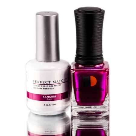 lechat perfect match nail polish, sangria, 0.500