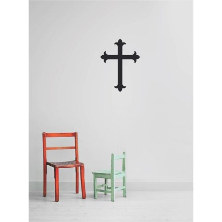 - Custom Wall Decal Custom Cling Transfer : Cross Diagram Wall Decal Sticker Size : 8 Inches X 8 Inches -