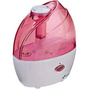 PureGuardian H900P 10-Hour Nursery Ultrasonic Cool Mist Humidifier, Pink