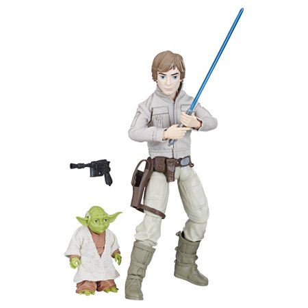 Star Wars Forces of Destiny Luke Skywalker and Yoda Adventure - Star Wars 7 Luke Skywalker