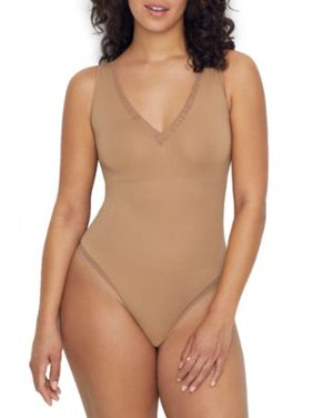 Yummie Womens Stevie Seamless Shaping Convertible Thong Bodysuit Style-YT5-288