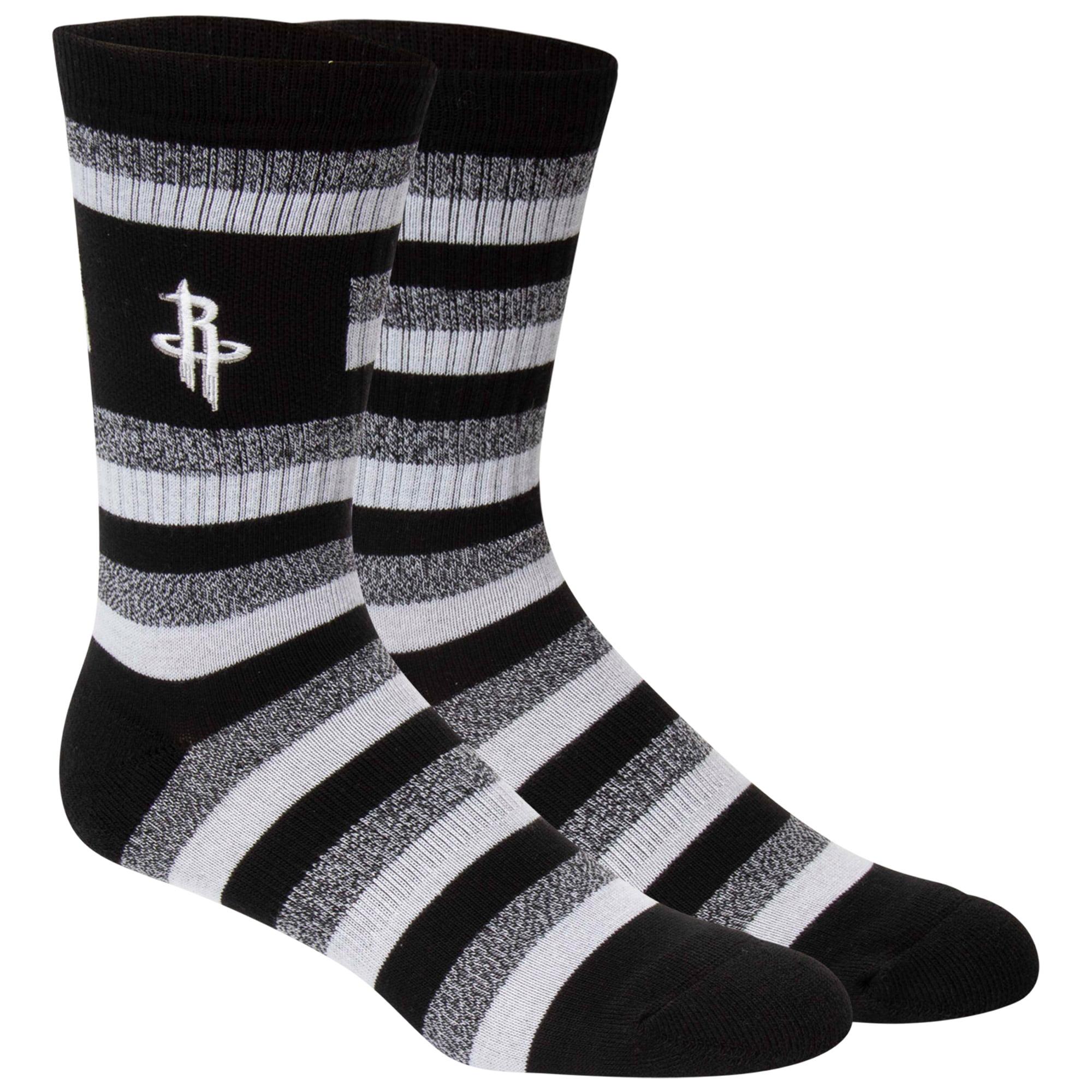 Houston Rockets Step Crew Socks - L
