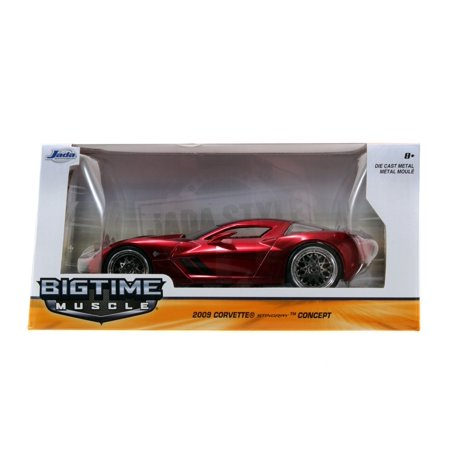 Bigtime Muscle Series: 2009 Corvette Stingray Concept (Red) 1/24 Scale