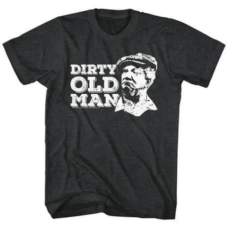 Redd Foxx- Dirty Old Man Apparel T-Shirt - - Dirty Old Man Shirt