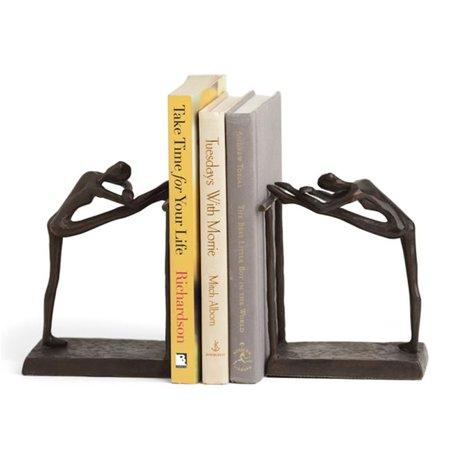 Danya B ZI14076 . Serre-livres Ballerina Stretch Metal - Marron - image 1 de 1