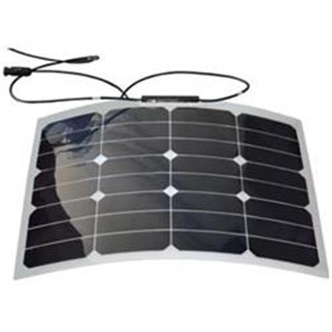 GO POWER GPFLEX30 30W Flexible Mono Crystalline Solar Kit