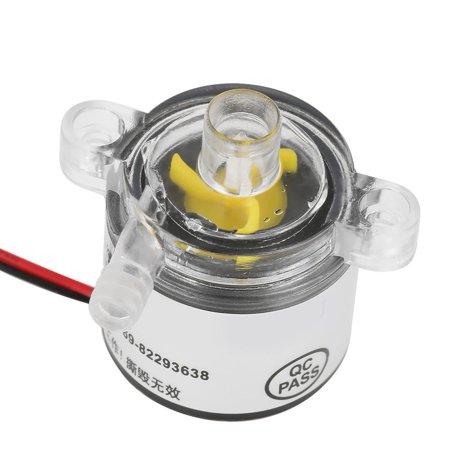 TOPINCN Pompe, pompe à eau, pompe à eau sans brosse submersible submersible de catégorie comestible 12V DC 6W 2L / min - image 3 de 8