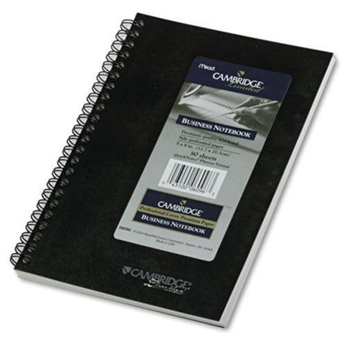 """Mead Quicknotes 1-subject Notebook - 80 Sheet - 20 Lb - Ruled - Jr.legal 5"""" X 8"""" - 1 Each - White Paper (MEA06096)"""