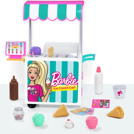 Barbie Ice Cream Cart Set - Dressing Up Babies