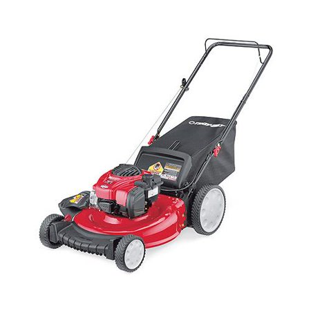 MTD Products 11A-B2BM766 3-In-1 Gas Push Lawn Mower, High-Wheel, 140cc Engine, 21-In.