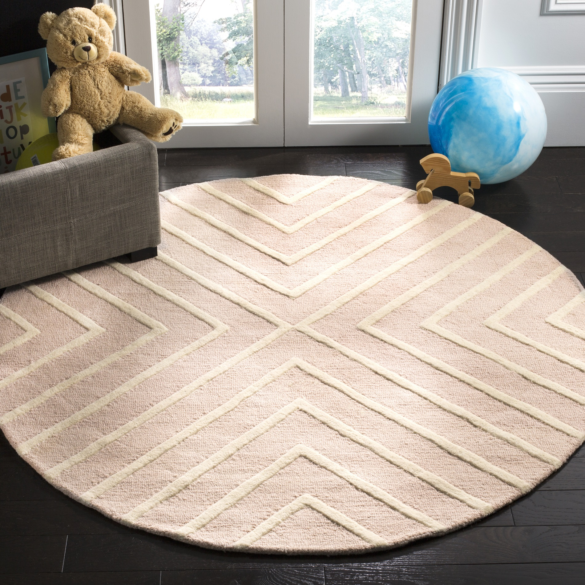Safavieh Kids X Pattern Area Rug or Runner