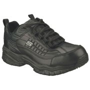 Skechers Size 11 Steel Toe Athletic Style Work Shoes, Men's, Black, EW, 76760EW -BBK SZ 11