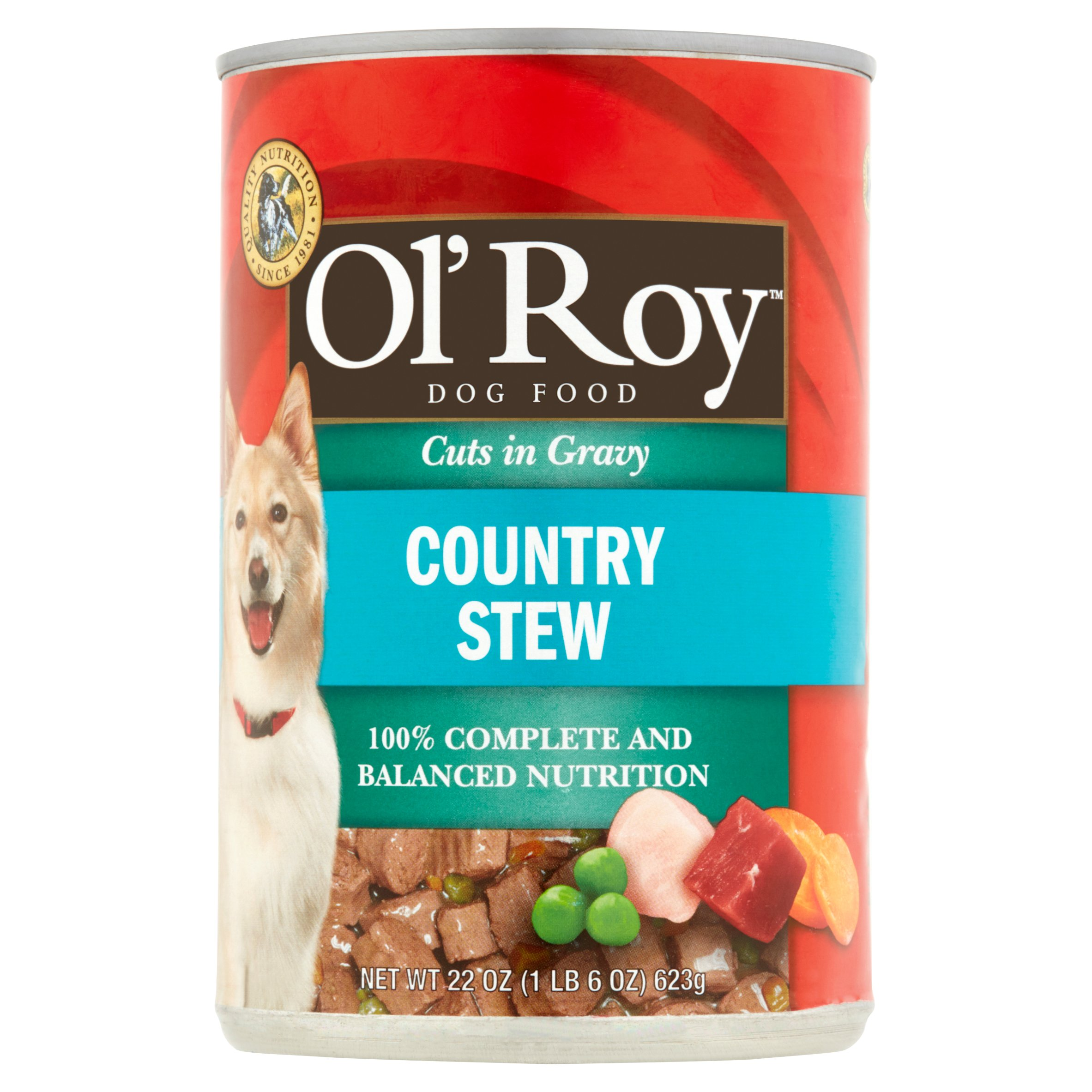 Ol' Roy: Hearty Cuts In Gravy Country Stew Dog Food, 22 Oz