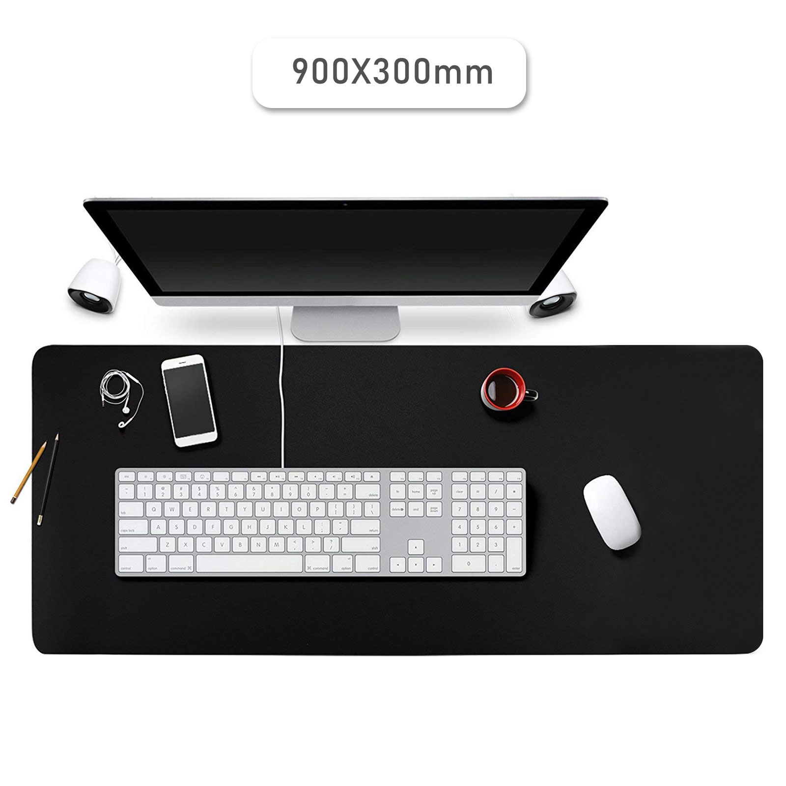 """11.8"""" Ultra-Large Mouse Pad Multi-purpose Keyboard Mat for Offices Household"""