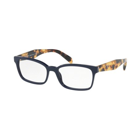 Prada 0PR 18TV Optical Rectangle Womens Eyeglasses - Size 51 (Best Prada Eyeglass Frames)