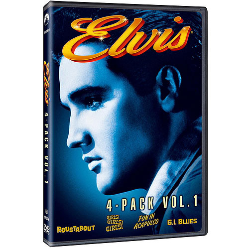 Elvis 4-Movie Collection, Vol. 1: Roustabout / Girls! Girls! Girls! / Fun In Acapulco / G.I. Blues (Widescreen)