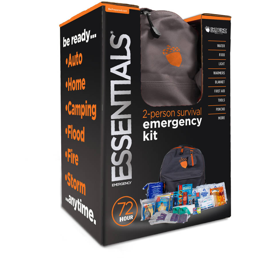 Emergency Essentials 2 Person 72 Hour Emergency Survival Kit by Emergency Essentials