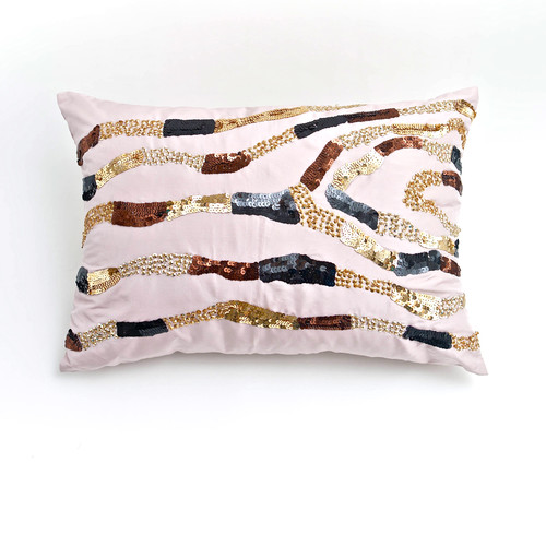 Debage Inc. Mother of Pearl Throw Pillow (Set of 2)